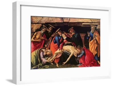 Passion of Christ-Sandro Botticelli-Framed Art Print
