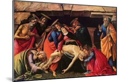 Passion of Christ-Sandro Botticelli-Mounted Art Print
