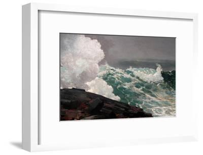 Northeaster-Winslow Homer-Framed Art Print