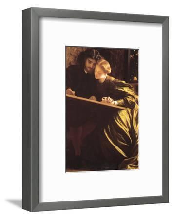 The Painter's Honeymoon-Frederick Leighton-Framed Premium Giclee Print