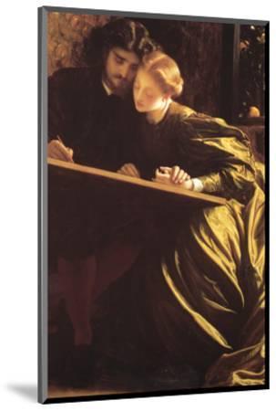The Painter's Honeymoon-Frederick Leighton-Mounted Premium Giclee Print