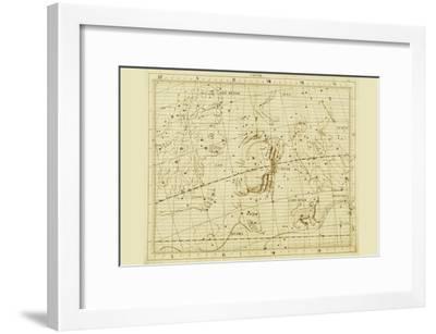 Cancer the Crab-Sir John Flamsteed-Framed Art Print