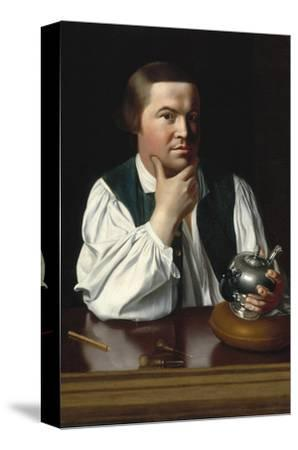 Portrait of Paul Revere-John Singleton Copley-Stretched Canvas Print