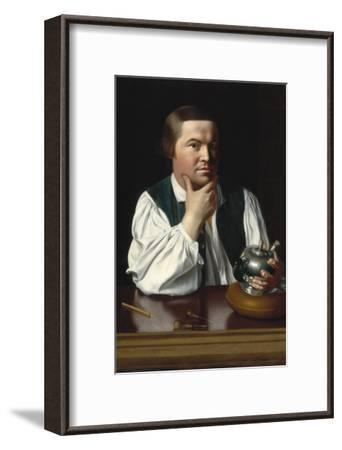 Portrait of Paul Revere-John Singleton Copley-Framed Art Print