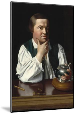 Portrait of Paul Revere-John Singleton Copley-Mounted Art Print