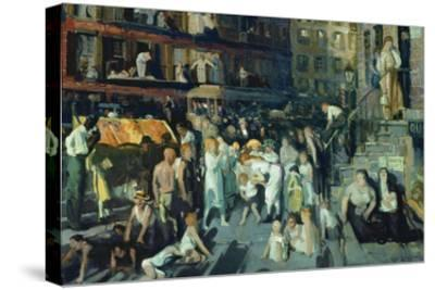 Cliff Dwellers-George Bellows-Stretched Canvas Print
