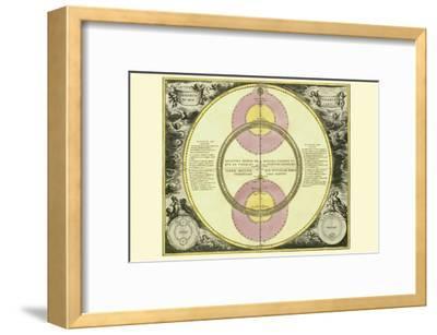Theoria Veneris-Andreas Cellarius-Framed Art Print