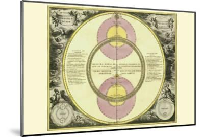 Theoria Veneris-Andreas Cellarius-Mounted Art Print