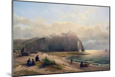 Coastal View-Antoine van Deventer-Mounted Art Print