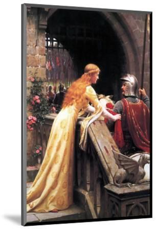 God Speed Fair Knight-Edmund Blair Leighton-Mounted Premium Giclee Print