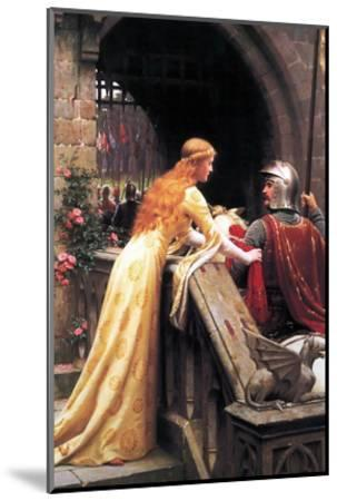 God Speed Fair Knight-Edmund Blair Leighton-Mounted Art Print