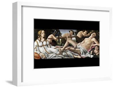 Venus and Mars-Sandro Botticelli-Framed Art Print