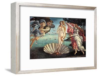 Birth of Venus-Sandro Botticelli-Framed Art Print