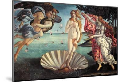 Birth of Venus-Sandro Botticelli-Mounted Art Print