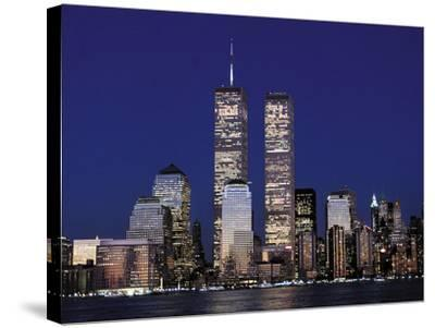 Attacks Trade Center-Mark Lennihan-Stretched Canvas Print