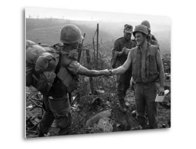 Vietnam Marines 1st Cavalry 1968-Holloway-Metal Print