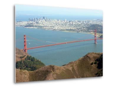 Golden Gate Bridge-Noah Berger-Metal Print