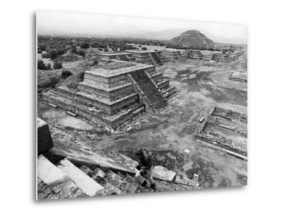 Mexico Excavations-George Brich-Metal Print