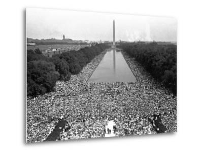 March on Washington--Metal Print