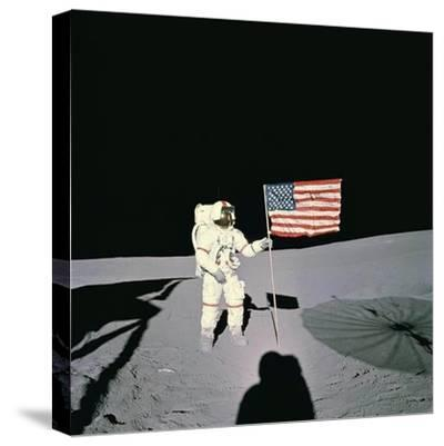 Shepard Moon Walk--Stretched Canvas Print