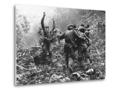 Vietnam War-Art Greenspon-Metal Print