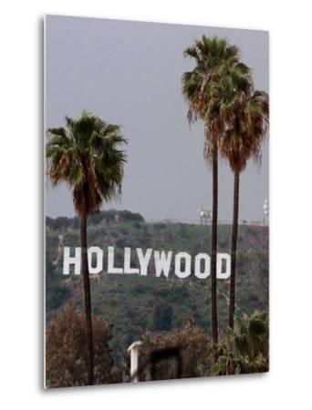 Hollywood Sign-Mark J. Terrill-Metal Print