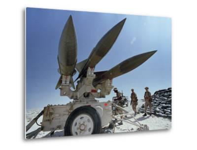 U.S. Hawk Anti-Air Craft Missiles- Endicher-Metal Print