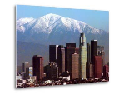 Los Angeles Mount Baldy-Nick Ut-Metal Print