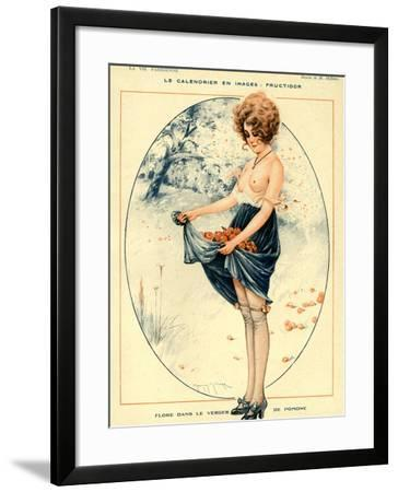 La Vie Parisienne, Maurice Milliere, 1918, France--Framed Giclee Print