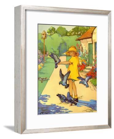 Infant School Illustrations, UK--Framed Giclee Print