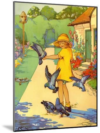 Infant School Illustrations, UK--Mounted Giclee Print