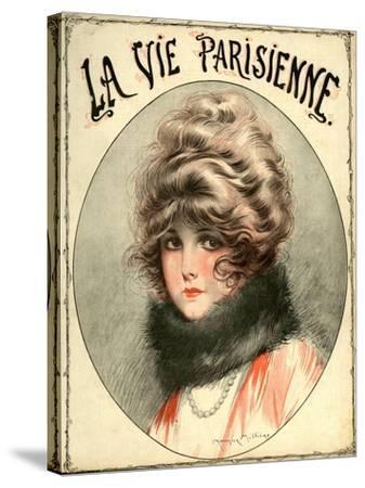 La Vie Parisienne, Maurice Milliere, France--Stretched Canvas Print
