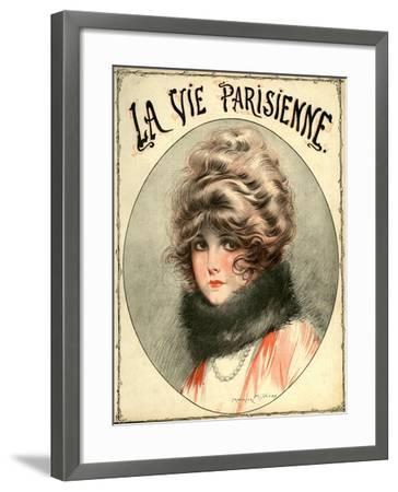 La Vie Parisienne, Maurice Milliere, France--Framed Giclee Print