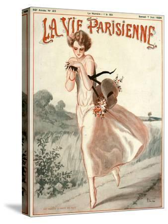 La Vie Parisienne, A Vallee, 1924, France--Stretched Canvas Print