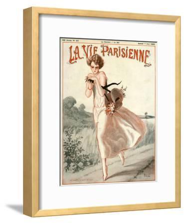 La Vie Parisienne, A Vallee, 1924, France--Framed Giclee Print