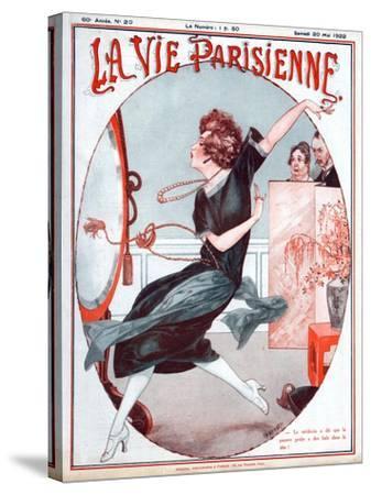 La Vie Parisienne, C Herouard, 1922, France--Stretched Canvas Print