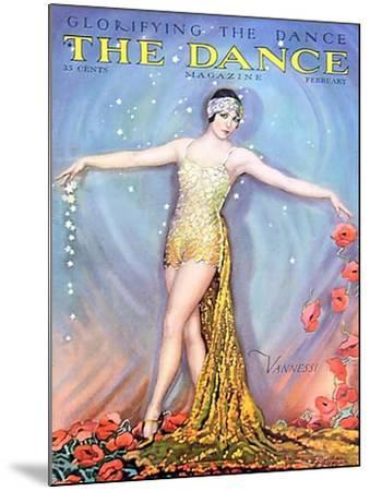 The Dance, Vannessi, 1928, USA--Mounted Giclee Print