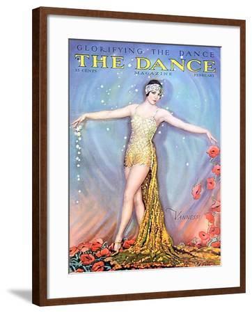 The Dance, Vannessi, 1928, USA--Framed Giclee Print