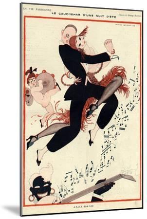 La Vie Parisienne, G Barbier, 1919, France--Mounted Giclee Print
