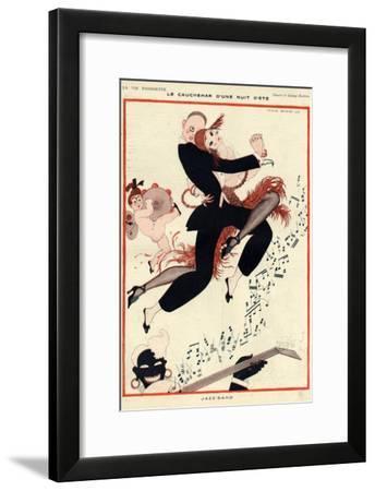 La Vie Parisienne, G Barbier, 1919, France--Framed Giclee Print