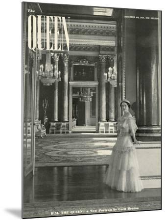 Queen, Queen Elizabeth The Queen Mother, 1939, UK--Mounted Giclee Print