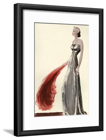 Women's Fashion 1930s, 1939, UK--Framed Giclee Print