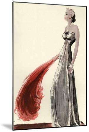 Women's Fashion 1930s, 1939, UK--Mounted Giclee Print