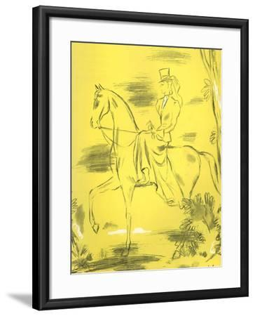 Woman Riding, 1939, UK--Framed Giclee Print