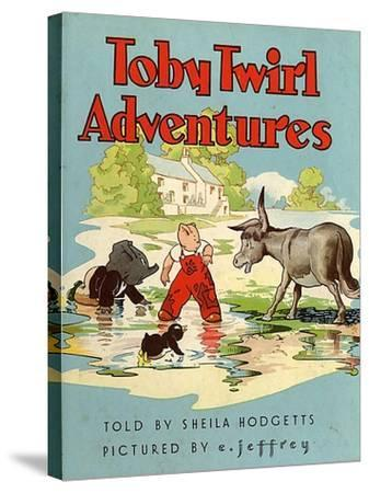 Toby Twirl Adventures, 1949, UK--Stretched Canvas Print