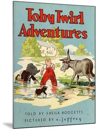 Toby Twirl Adventures, 1949, UK--Mounted Giclee Print