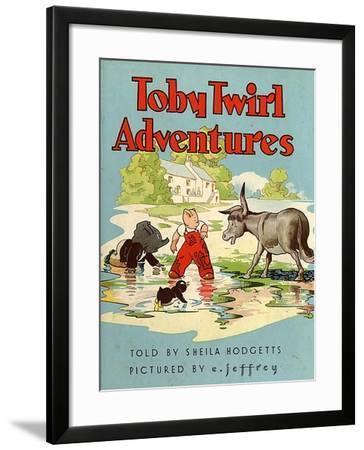 Toby Twirl Adventures, 1949, UK--Framed Giclee Print
