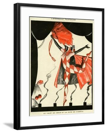 La Vie Parisienne, Georges Pavis, 1923, France--Framed Giclee Print