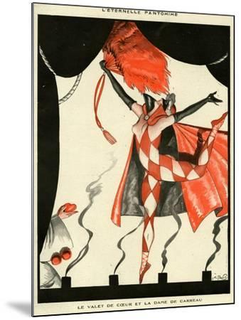 La Vie Parisienne, Georges Pavis, 1923, France--Mounted Giclee Print