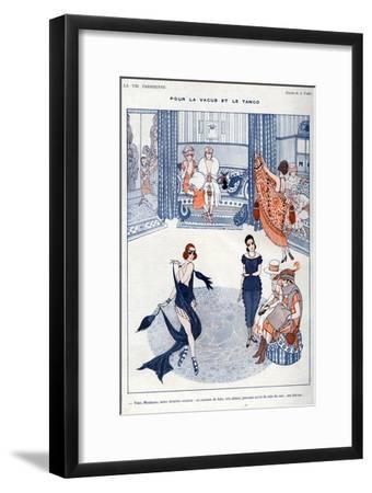 La Vie Parisienne, A Vallee, 19119, France--Framed Giclee Print
